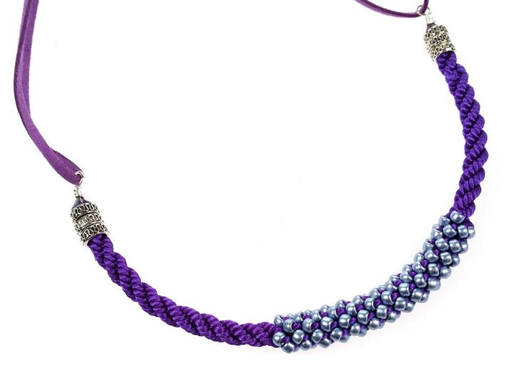 'Fill the Gap', 7 Strand Beaded Bracelet or Reverse 7 Strand Necklace