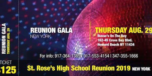 ST. ROSE'S HIGH SCHOOL REUNION GALA