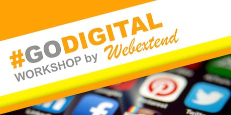 GO DIGITAL WORKSHOP (With FREE Domain, Hosting, Certificate and Lunch) tickets