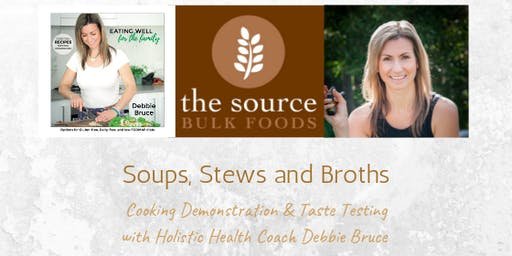 Cooking Demonstration - Soups, Stews and Broths