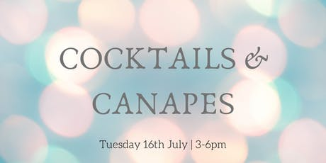 Cocktails & Canapés tickets
