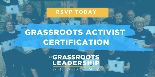 AFP Foundation PA, Grassroots Activist Certification, State College