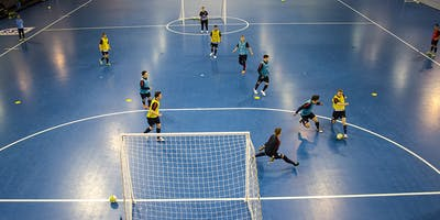 Futsal Sports Camp for 8 to 14 year olds