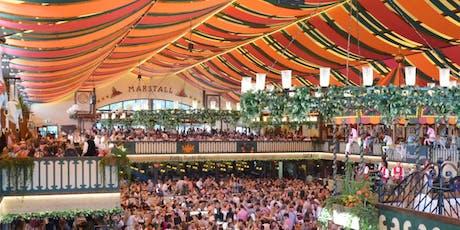 Oktoberfest 2019 - Marstall tent seat tickets