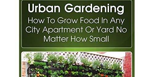 Growing food in an Urban Garden