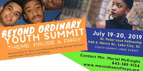 Beyond Ordinary Youth Summit tickets