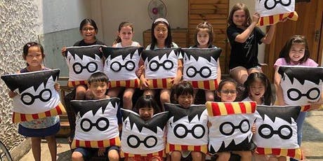 Craft'd Bus Workshops: Sew a Harry Potter cushion! tickets