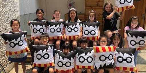 Craft'd Bus Workshops: Sew a Harry Potter cushion!