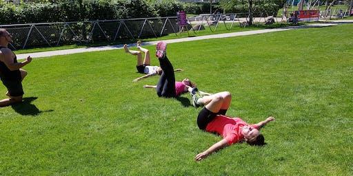 Urban Workout im Eilbektal - Schnuppertermin