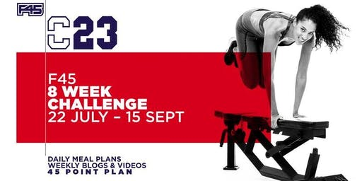 8 WEEK CHALLENGE INFO NIGHT - F45 NORTH WELLINGTON