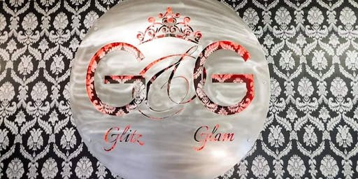 Glitz and Glam sip and paint