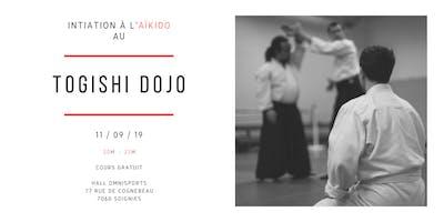 Initiation à l'Aïkido gratuite à Soignies