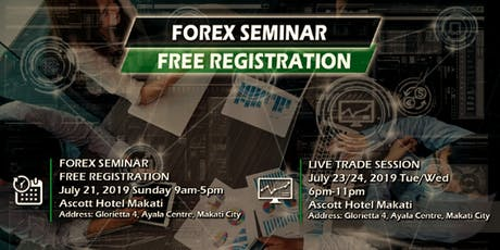 Introduction to FOREX TRADING and LIVE TRADE SESSION tickets