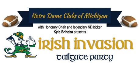Notre Dame @ Michigan Tailgater - ND Club of Ann Arbor tickets