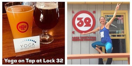 Yoga on Tap at Lock 32 tickets