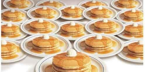 1st Annual Pancake Breakfast
