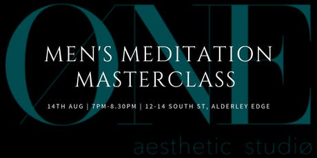 Men's Meditation Masterclass tickets