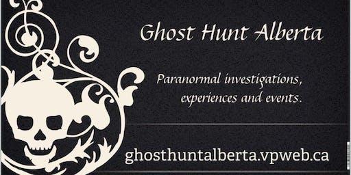 Paranormal Investigator training weekend