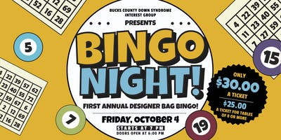 First Annual BCDSIG Designer Bag Bingo