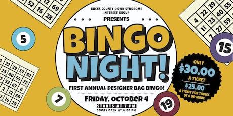 First Annual BCDSIG Designer Bag Bingo tickets