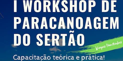 I Workshop de Paracanoagem do Sertão