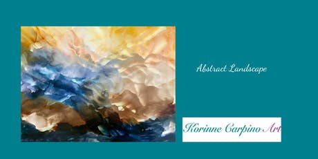 Alcohol Ink Workshop - Abstract Landscape tickets