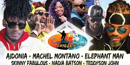 Caribbean Concerts at Six Flags 2019