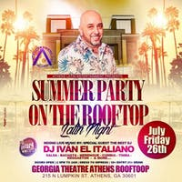 Athens Latin Entertainment Presents Latin Night with DJ Iván el Italiano