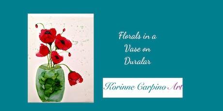 Alcohol Ink Art Workshop - Florals in Vase on Translucent Duralar tickets