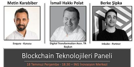 Blockchain Teknolojileri Paneli tickets