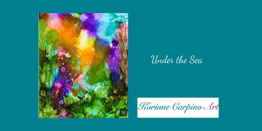 Alcohol Ink Workshop - Under the Sea