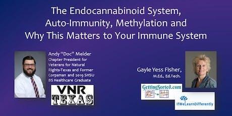 Endocannabinoid System, Auto-Immunity, Methylation & Your Immune System tickets