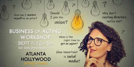 Business of Acting Workshop tickets