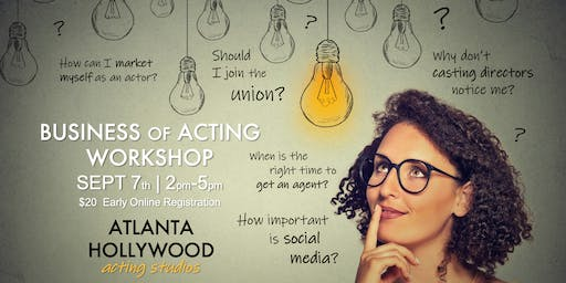 Business of Acting Workshop