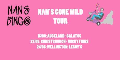 Nan's Bingo - Auckland tickets
