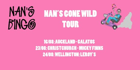 Nan's Bingo - Christchurch tickets