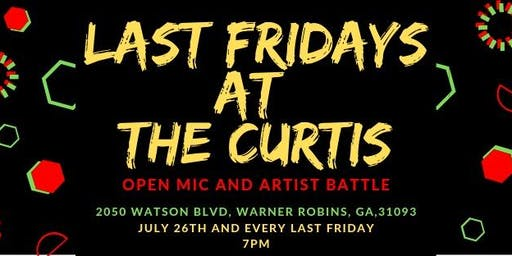 Last Friday at the Curtis, Open Stage Kickoff!