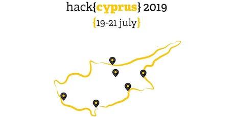 HackCyprus 2019 Hackathon - The Comeback tickets