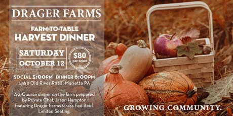 Farm-to-Table Harvest Dinner tickets