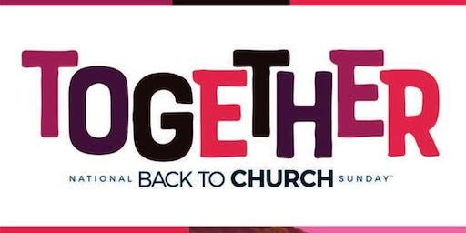 Back To Church Sunday @LoveOfChrist