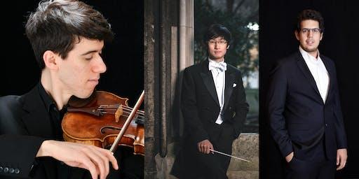 Talent Unlimited concert: Salih Can Gevrek, Emmanuel Bach, Jack Wong