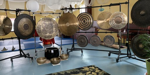 Uplug and Re-tune thru a magical sound journey at the Gong Palace