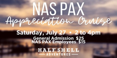 NAS PAX Appreciation Cruise tickets