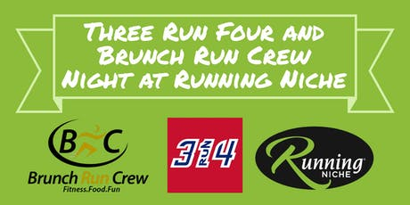 3Run4 and Brunch Run Crew Group Run & Walk at Running Niche in the GroveSTL tickets