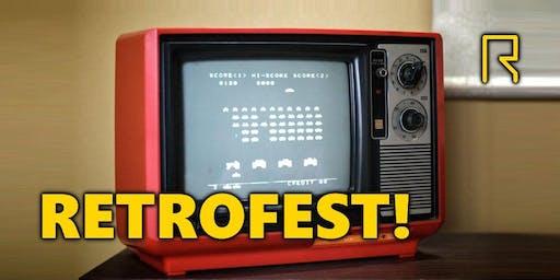 Retrofest! Retro Gaming at R-CADE