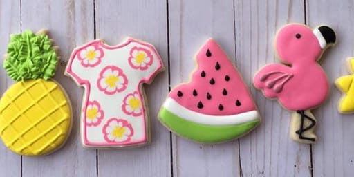 Cookie Decorating Class Summer 2019 by Teal Oven Bakery