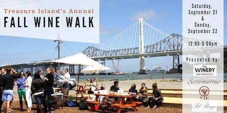 Treasure Island's Annual Fall Wine Walk tickets
