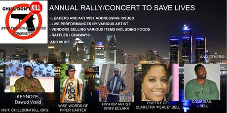 Chill Don't Kill: Annual Concert / Rally to Save Lives tickets