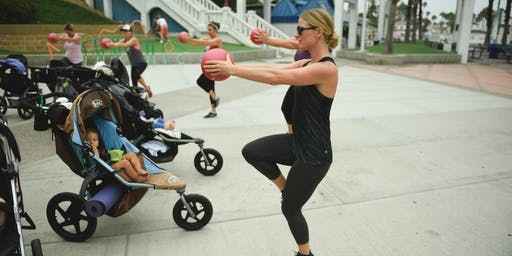 Stroller Barre Fall Pop Up & Scavenger Hunt