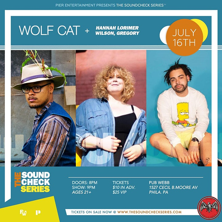 THE SOUNDCHECK SERIES: Wolf Cat with Hannah Lorimer & Wilson, Gregory image